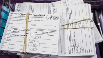 COVID-19 vaccination cards for sale in USA