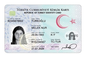 Fake Turkish identity card for sale with bitcoin